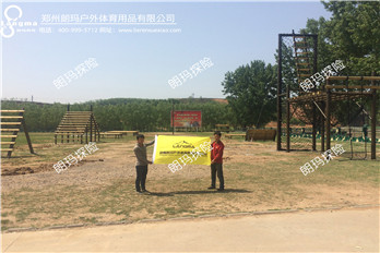 渑池部队美式障碍训练场已建成