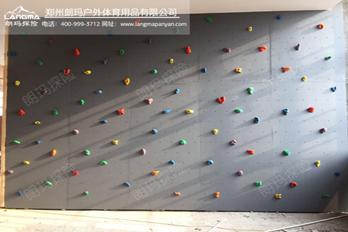 郑州康桥儿童室内抱石攀岩