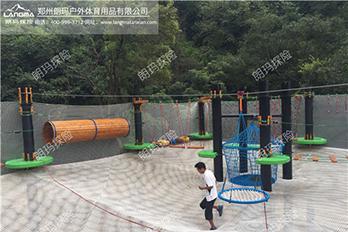 广州南丹山儿童探险乐园成功建成