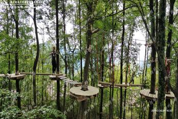 宜昌秭归树上探险项目已完美收官
